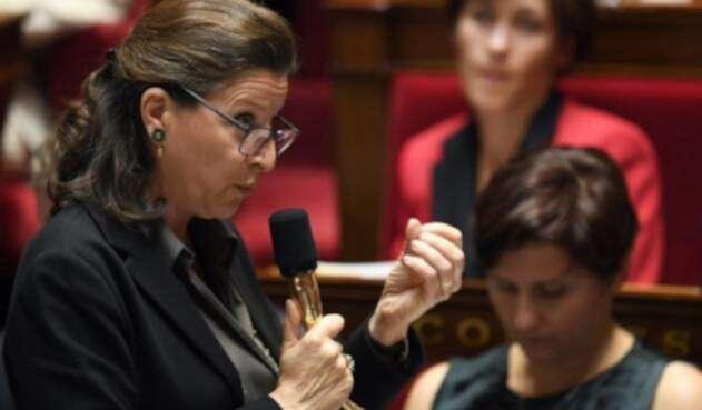 Ministra de Salud de Francia, Agnes Buzyn.