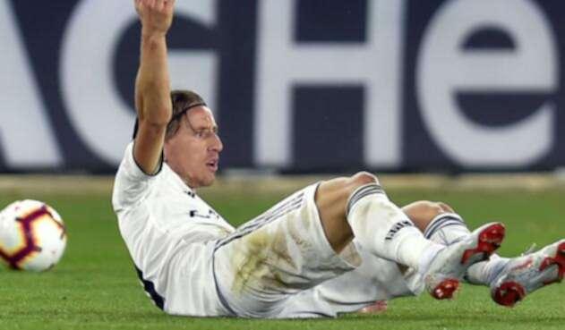 Real Madrid volvió a perder y Luka Modric se lamenta por el resultado