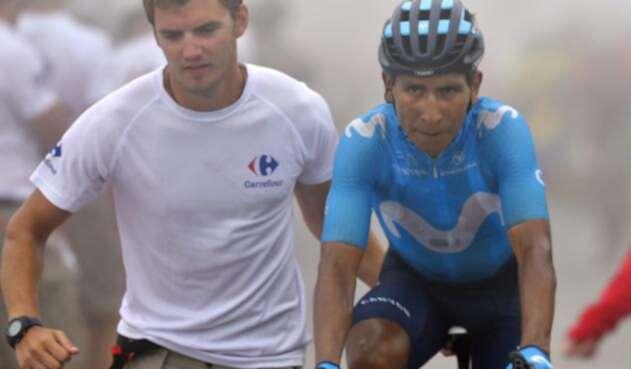 Nairo Quintana en el Tour de Francia 2018