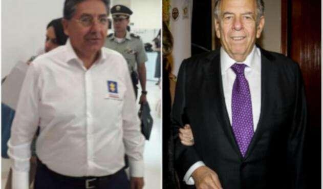 Néstor Humberto Martínez y Julio Gerlein