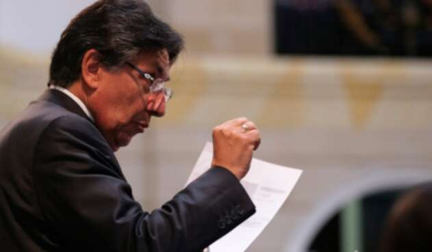 Néstor Humberto Martínez, el exfiscal general de la Nación