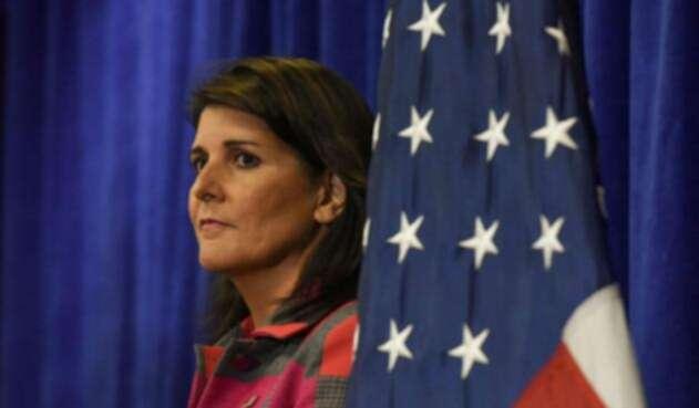 Nikki Haley, embajadora de Trump en la ONU