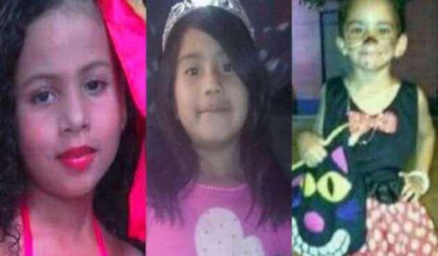 Niñas asesinadas en Colombia