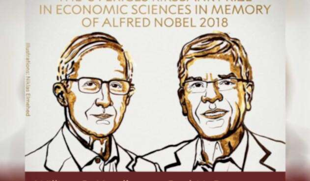 William D. Nordhaus y Paul M. Romer ganadores del Nobel de Economía