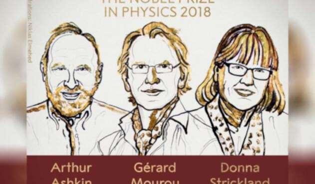 Arthur Ashkin, Gérard Mourou y Donna Strickland ganan Nobel en Física