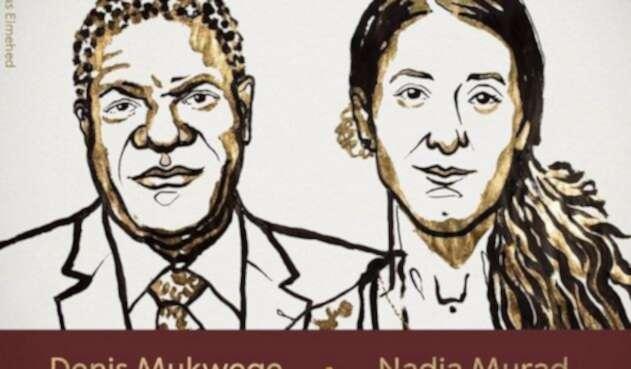 Denis Mukwege y Yazidí Murad