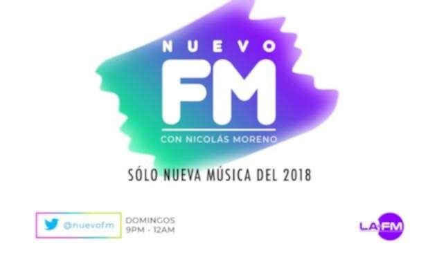 #NuevoFm – Playlist 226 / Domingo 21 de Octubre 2018