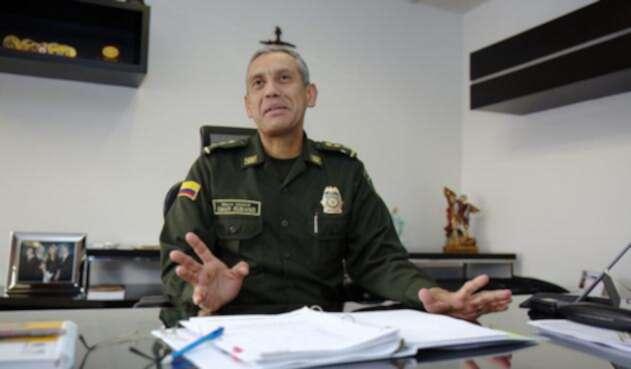El mayor general Ómar Rubiano Castro, director de seguridad ciudadana de la Policía Nacional