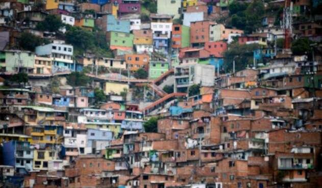La Comuna 13 de Medellín, donde tuvo lugar la Operación Orión el 16 y 17 de octubre de 2002
