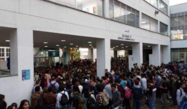 El paro de la Universidad Nacional sede Manizales