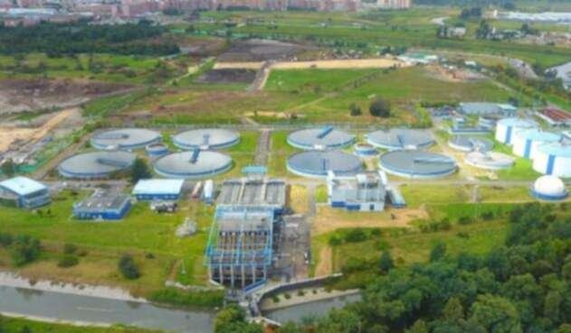 Planta de agua Acueducto de Bogotá