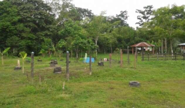 Según las autoridades locales, el terreno de 50 hectáreas estaba desocupado y desconocen quién es el propietario.