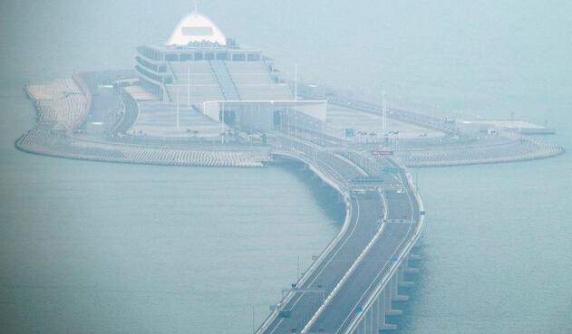 El puente Hong Kong-Zhuhai-Macao inagurado en China