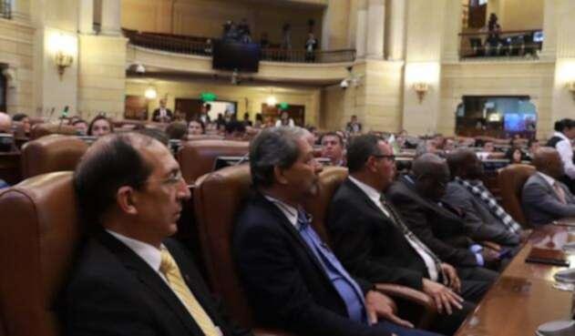 Rectores de las Universidades Públicas en foro en el Congreso de la República
