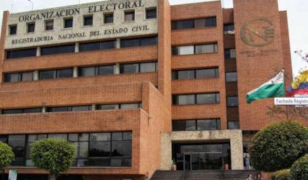 Registraduría y Consejo Nacional Electoral