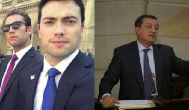 Martín y Esteban Santos se burlan de la propuesta de Ernesto Macías.