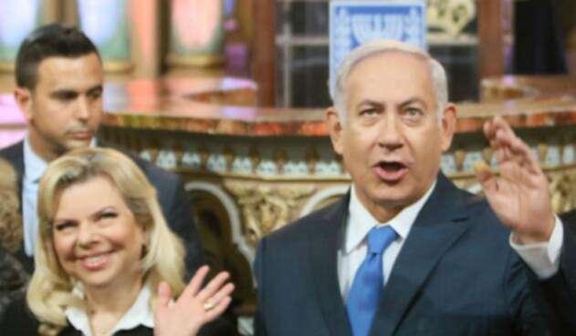 Sara Netanyahu, la esposa del primer ministro israelí