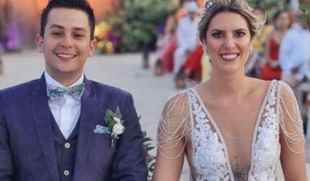Matrimonio de Sebastián vega y Valentina Ochoa