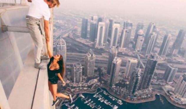Viki Odintcova, la modelo rusa que se tomó fotos peligrosas en Dubai y vivió para contarlo