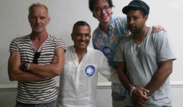 Sting Y Shaggy en Los Originales