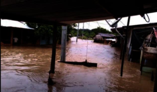 Lluvias en Sipí, Chocó.