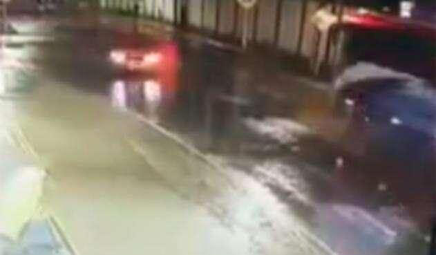 El accidente de tránsito en Socorro (Santander)