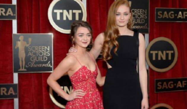 Sophie Turner y Masie Williams