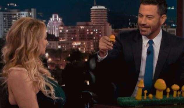 Jimmy Kimmel y Stormy Daniels se burlan de Trump