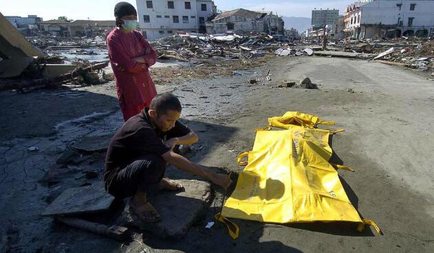 Terremoto y tsunami en Sumatra (Indonesia)
