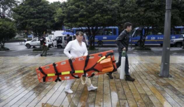 Simulacro de evacuación en emergencias 5