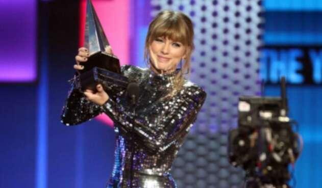 Taylor Swift en los American Music Awards