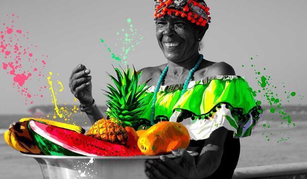 Transhuella arte que resalta la cultura de las comunidades de Colombia
