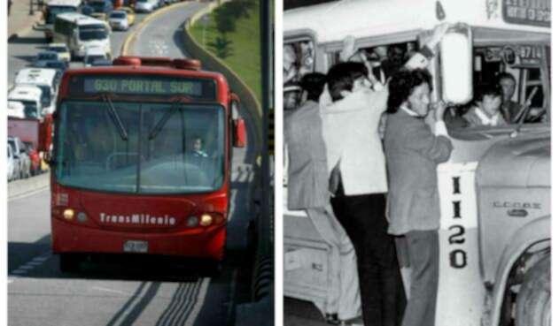 TransMilenio recuerda patrimonio de Bogotá con el transporte