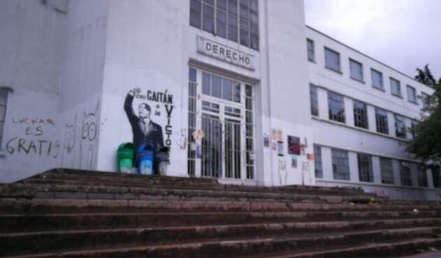 Edificio de Derecho, Universidad Nacional