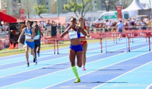 Valeria Cabezas, atleta colombiana