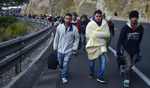 Venezolanos migrantes Perú