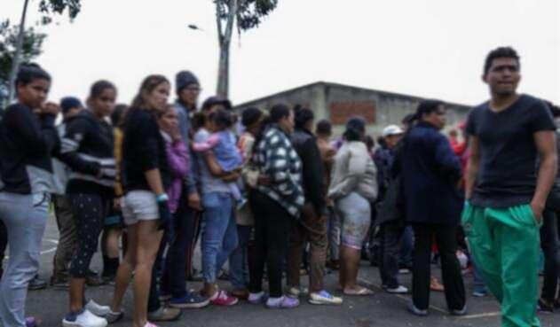 Ciudadanos venezolanos.