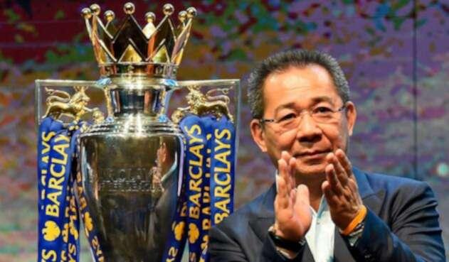 Vichai Srivaddhanaprabha, propietario del Leicester desde la temporada 2010