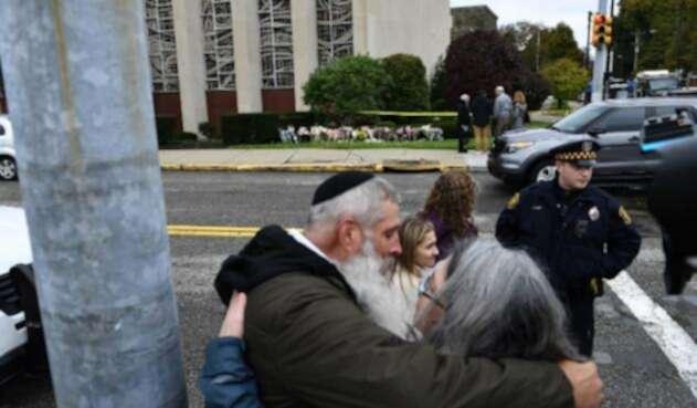 Víctimas del tiroteo en una Sinagoga.