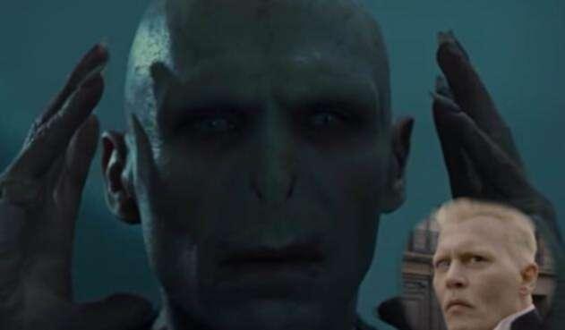 Voldemort y Grindelwald