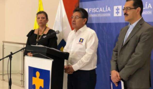 Néstor Humberto Martínez estuvo en Barranquilla este jueves.