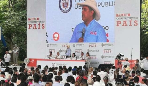 Presidente Iván Duque, en Garzón, Huila.