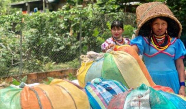 Mujeres indígenas víctimas del conflicto