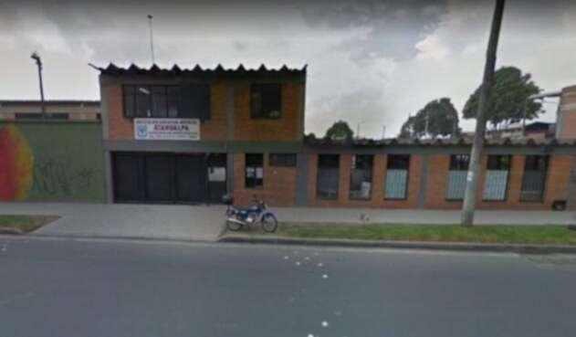 Colegio Atahualpa en la localidad de Fontibón