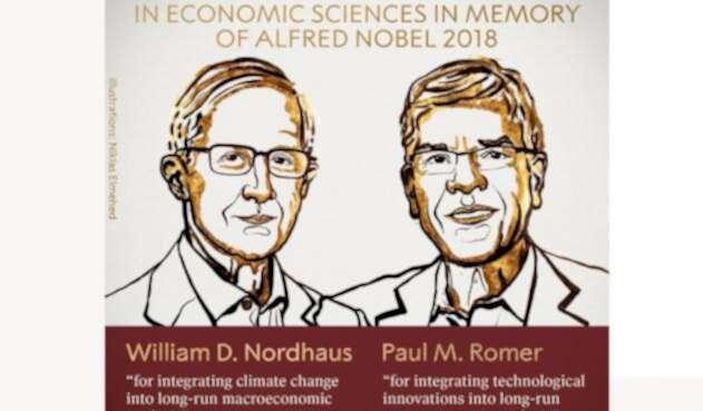 William D. Nordhaus y Paul M. Romer, galardonados con el Premio Nobel de Economía 2018