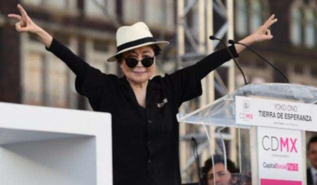 Yoko Ono, viuda de John Lennon