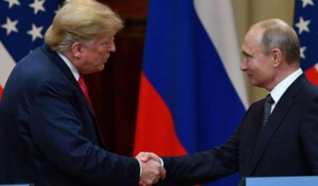 Donald Trump y Vladimir Putin, presidentes de Estados Unidos y Rusia