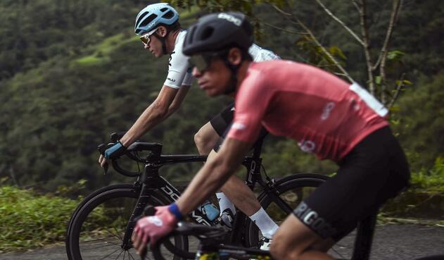 Chris Froome dijo que meditará participar en la carrera Colombia 2.0