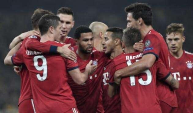 Bayern Munich, actualmente segundo en la Bundesliga con 20 puntos