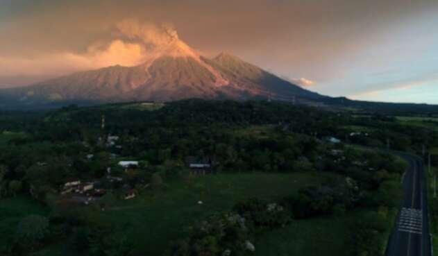 Volcán de Fuego en Guatemala.